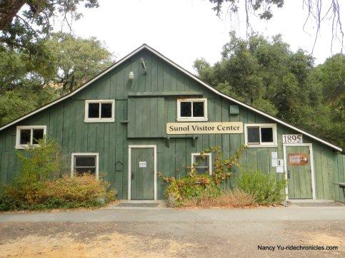 old green barn visitor center