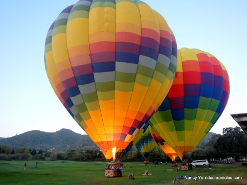 yountville hot air balloons