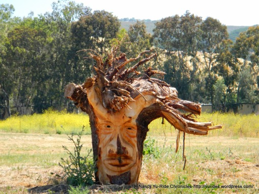 wood stump carvings