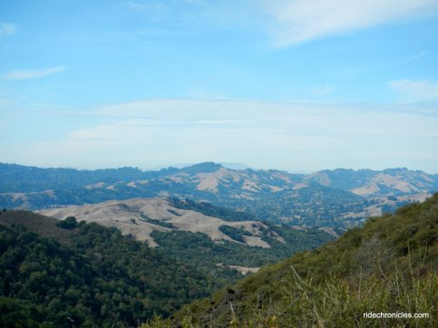 las trampas ridge trail views