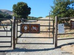rocky ridge view trail gate