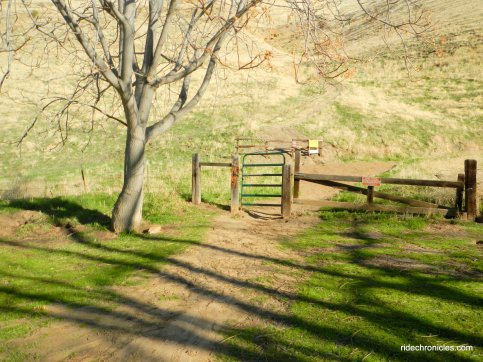 to railroad bed trail