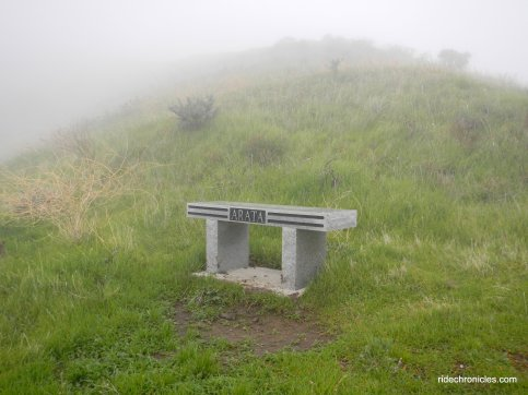 arata overlook memorial bench