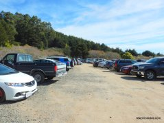 palomarin trailhead parking lot