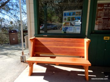 new memorial benches
