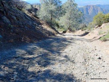 steep unstable slope