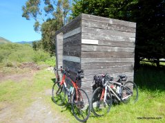 the bike hut