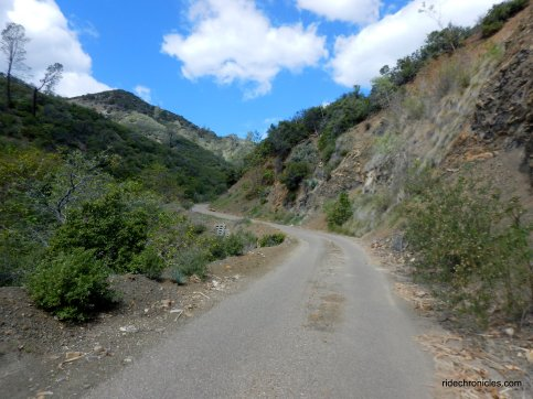 steep climb-happy canyon rd