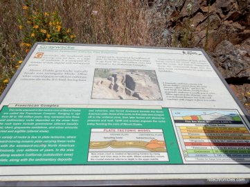 Graywacke interpretive panel