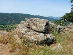rocky ridge line