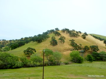 los vaqueros watershed area