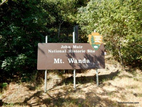 to Mt Wanda trail