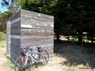 bike hut potty
