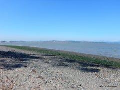 western shoreline