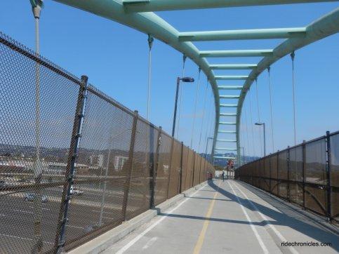 ped/bike bridge