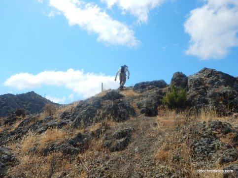 scramble to summit