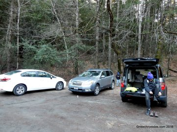 table rock trail parking lot