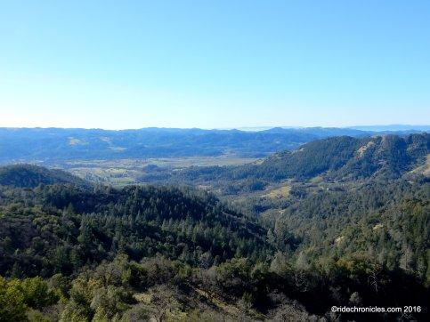 palisades trail views