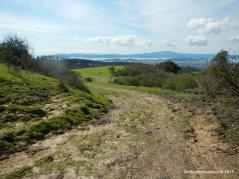 trail leading downhill to nimitz way