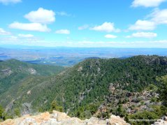 Mt St Helena summit views