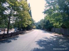 bike route thru orinda